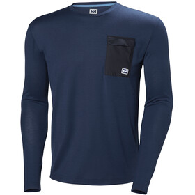 Helly Hansen M's Lomma LS Catalina Blue